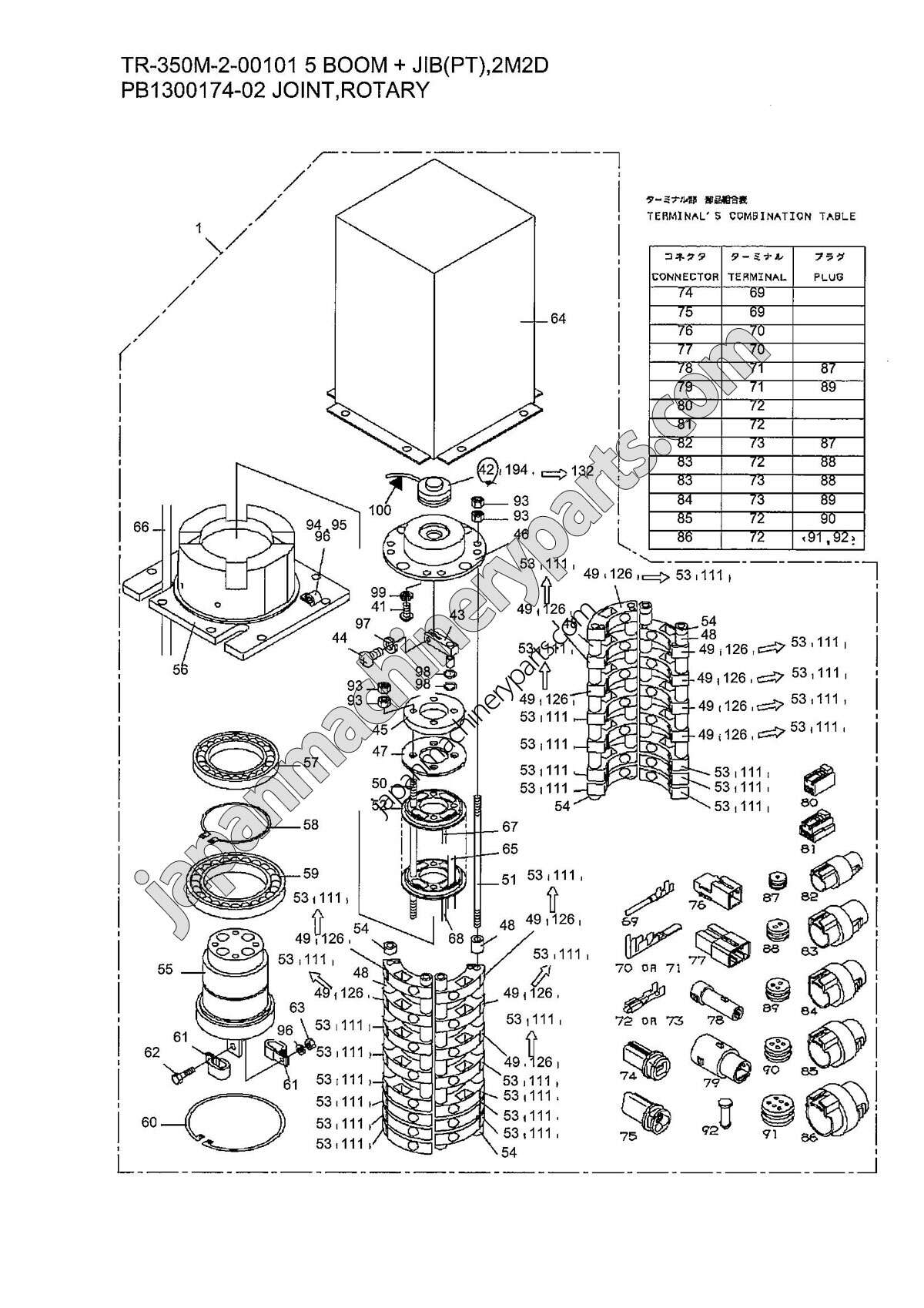 Parts For Tadano Tr 350m 2