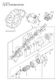 Parts for YANMAR 3YM30
