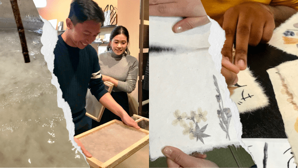 washi making experience