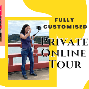 Private customized online tour Japan