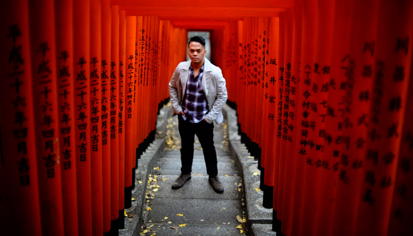 Location portrait photography in Tokyo