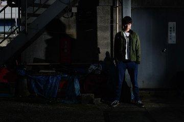 Location portraits with flash: Joe in Omori