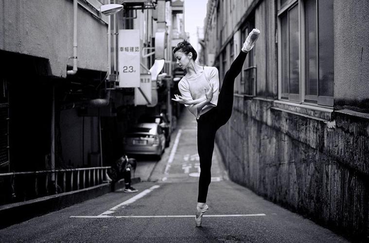 Ballet photography in Tokyo: Alexandra Farber