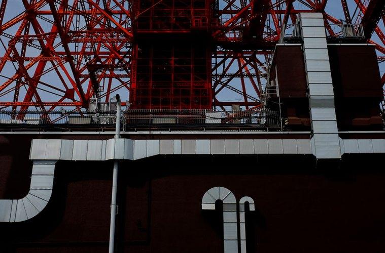 A photo walk around the Tokyo Tower, Tokyo, Japan