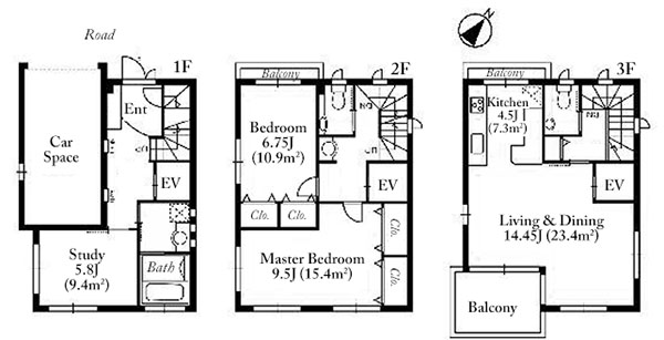 Motoazabu 3-1 House