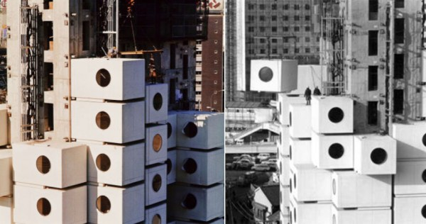 Nakagin Capsule Tower 4