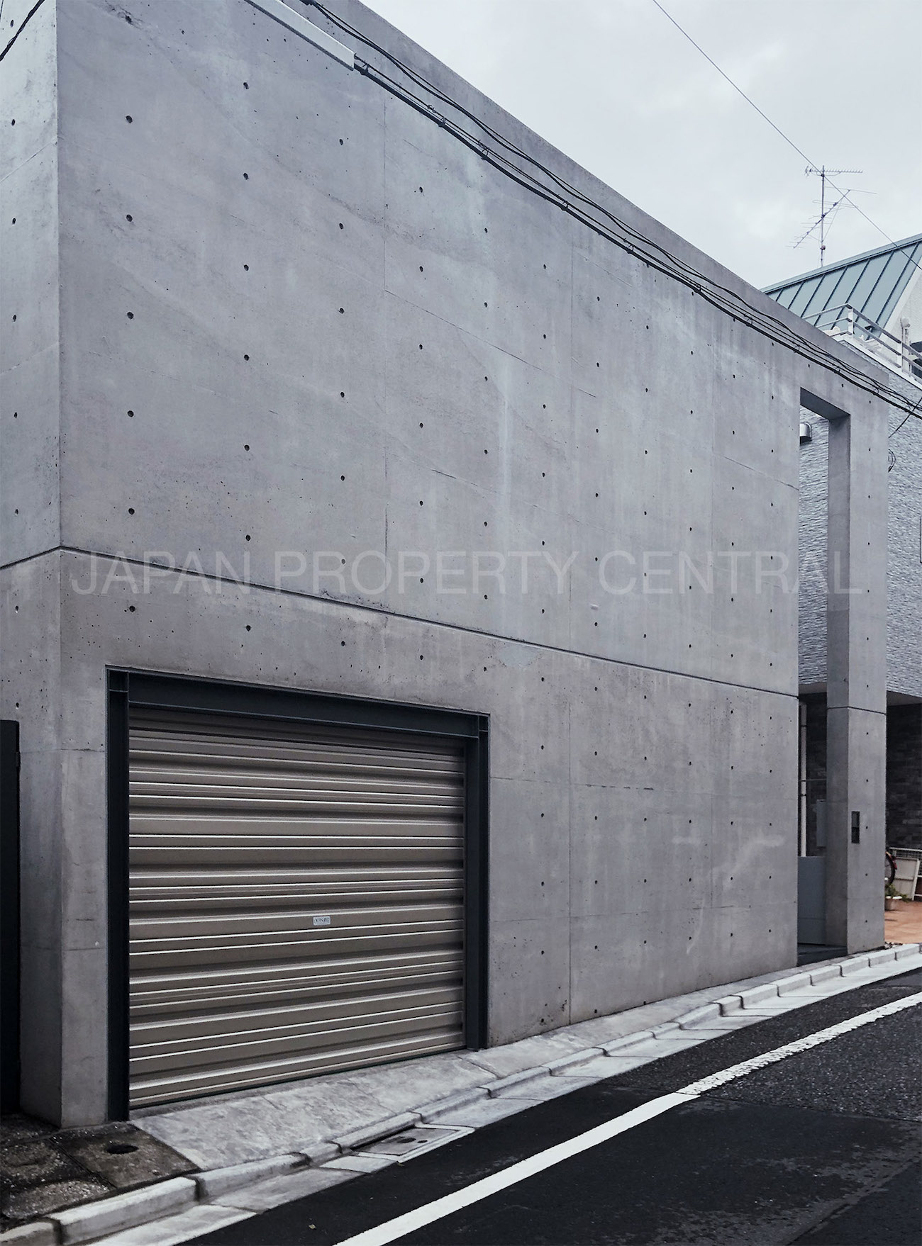 Tadao Ando designed house in Shibuya now under offer  JAPAN PROPERTY CENTRAL
