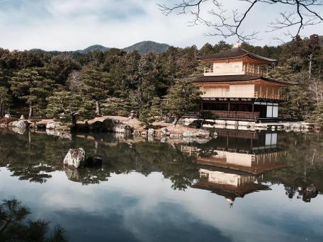 kyoto-gold-temple-kinkakuji-distance-2016