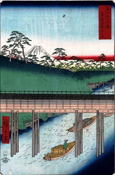 View of Ochanomizu in the Edo Period