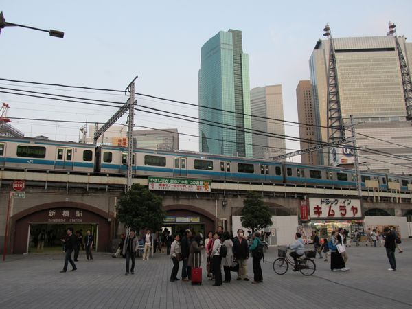Shinbashi Station, Tokyo