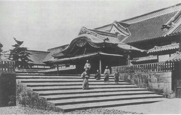 Fukuoka domain's upper residence in Kasumigaseki (Kuroda family). This lot became the Ministry of Foreign Affairs.