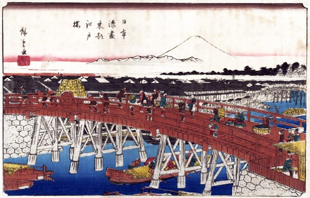 A Classic View of Edo... from Nihonbashi.