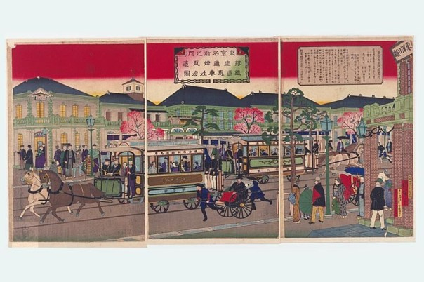 After a fire destroyed the area in 1872, the Meiji government used the opportunity to make Ginza the epitome of modernization. It feels like a western city, not a castle town.