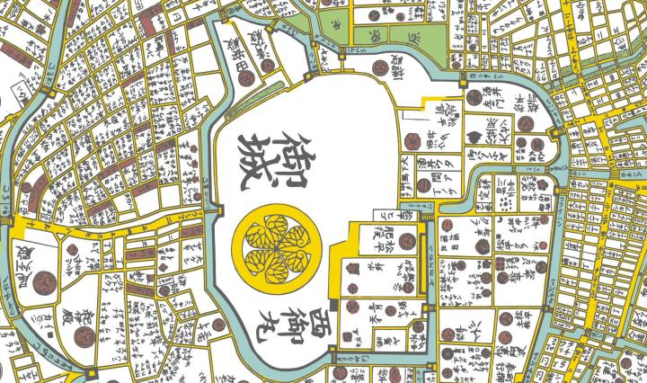 map of edo