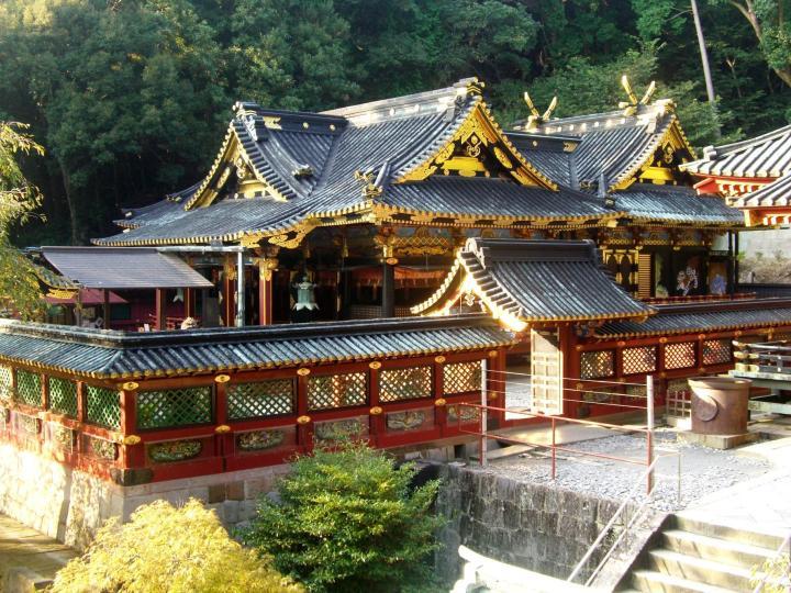 Kunozan Toshogu - Tokugawa Ieyasu's original grave
