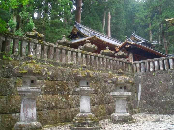 Nikko Taiyu-in - grave of tokugawa iemitsu