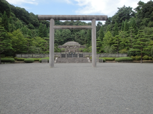 The Taisho Emperor's grave.