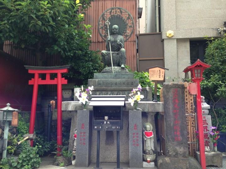 I don't know if this Buddha stood here in the Edo Period, but if it did, it would have witnessed over 100,000 executions.