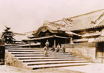 Fukuoka Domain's upper residence in Kasumigaseki is considered a masterpiece of Edo Period administrative building style.