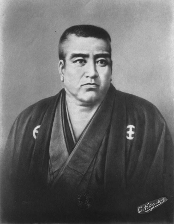One of the greatest idiots of the Meiji Coup: Saigo Takamori. Typical imo zamurai of the time.