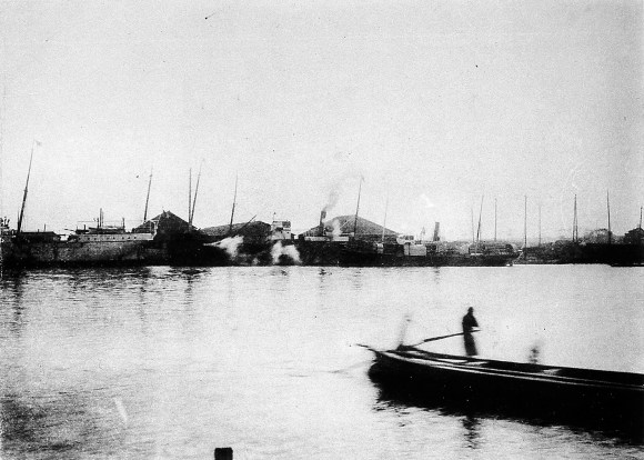 Ishikawajima Shipyard in the Meiji Era