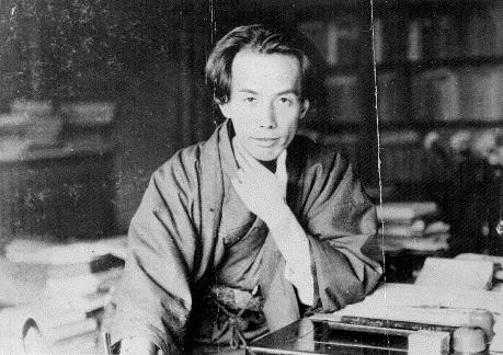 Akutagawa Ryonosuke in a kimono