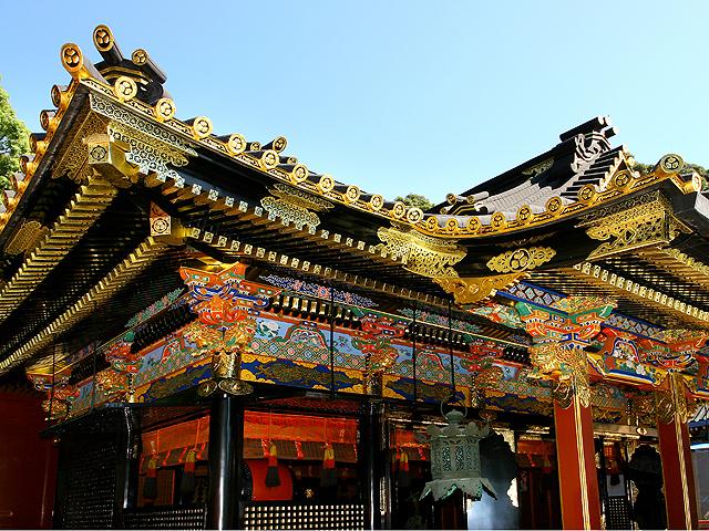 Kunōzan, the birthplace of the cult of Tōshō-gū.