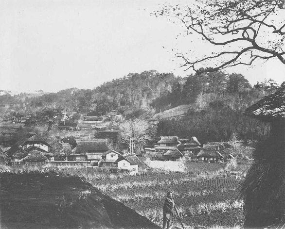 Yarimizu during the bakumatsu. Hachioji, near the haunted temple, Doryo-do.