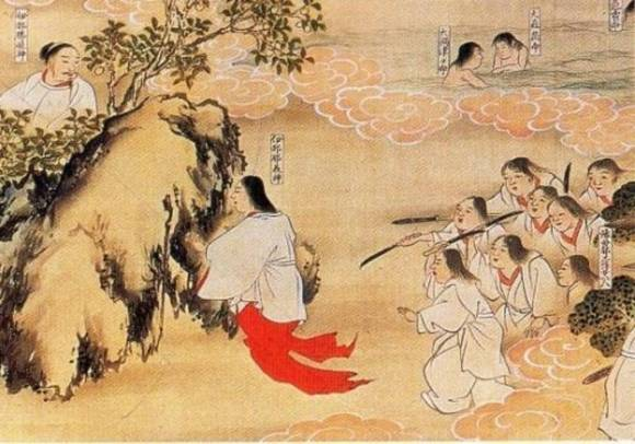 Izanagi traps Izanami and her army of dimwits in Yomi.