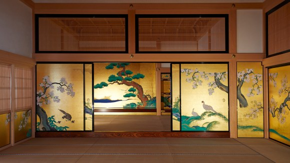 sliding wall paintings by the Kano School in Nagoya Castle