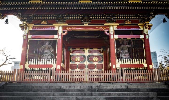 Yusho-in Nitenmon Tokugawa Ietsugu