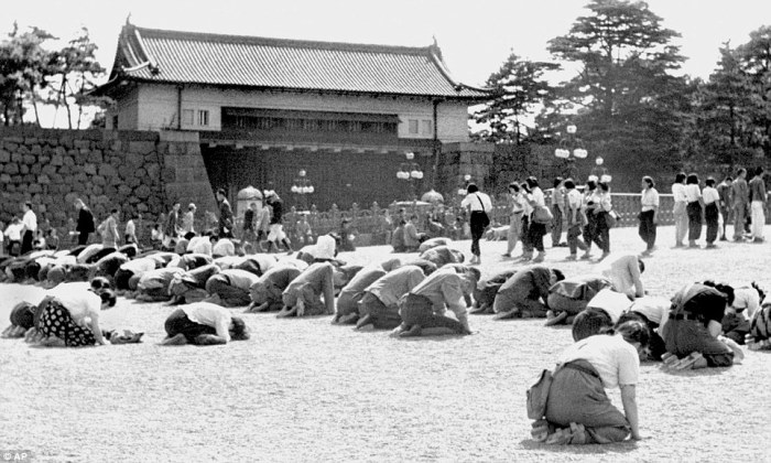 Imperial Palace after WWII