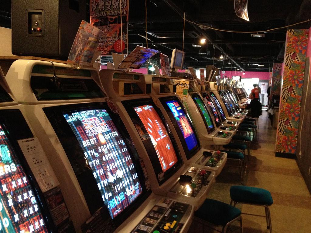 tokyo video game tour akihabara