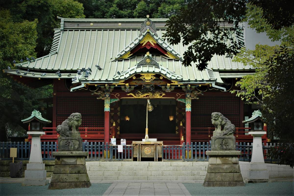 shibuya walking tour konno shrine