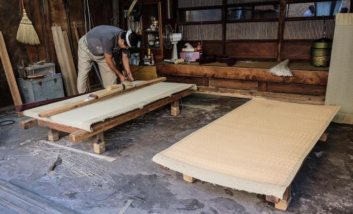 tatami factory walk the tokaido