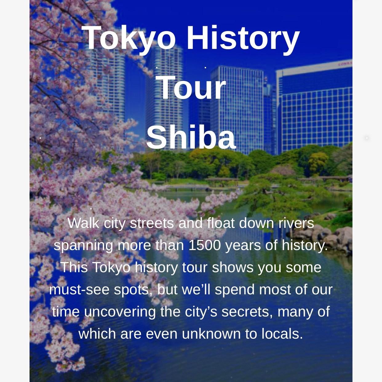 Tokyo History Tour