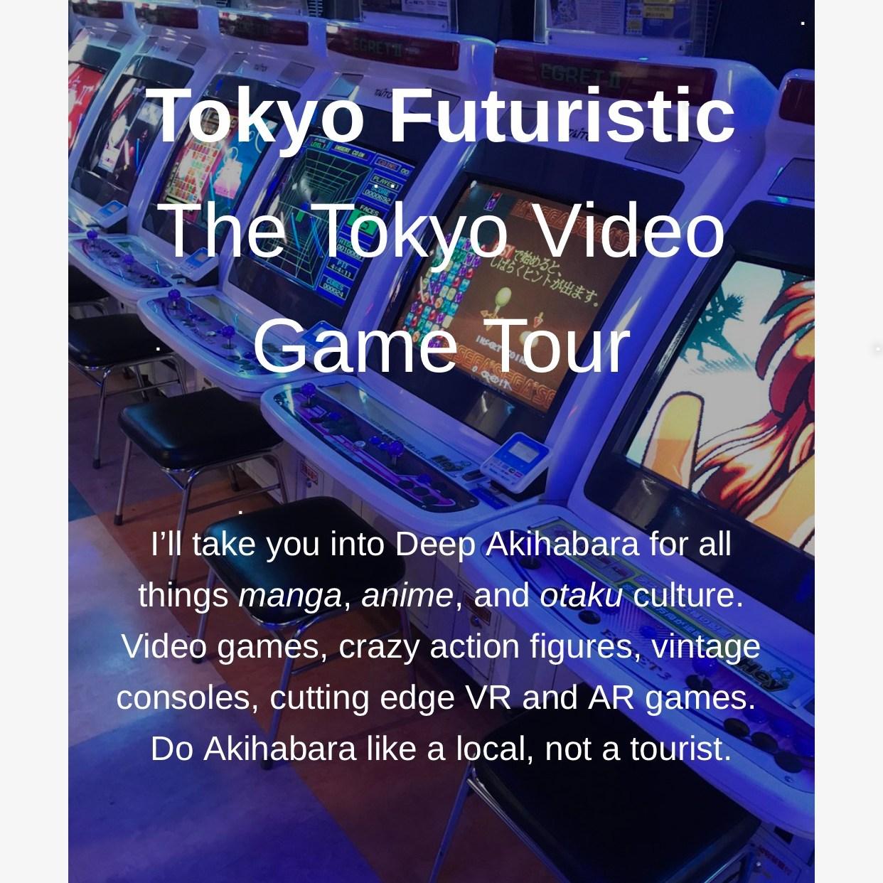 Tokyo Video Game Tour