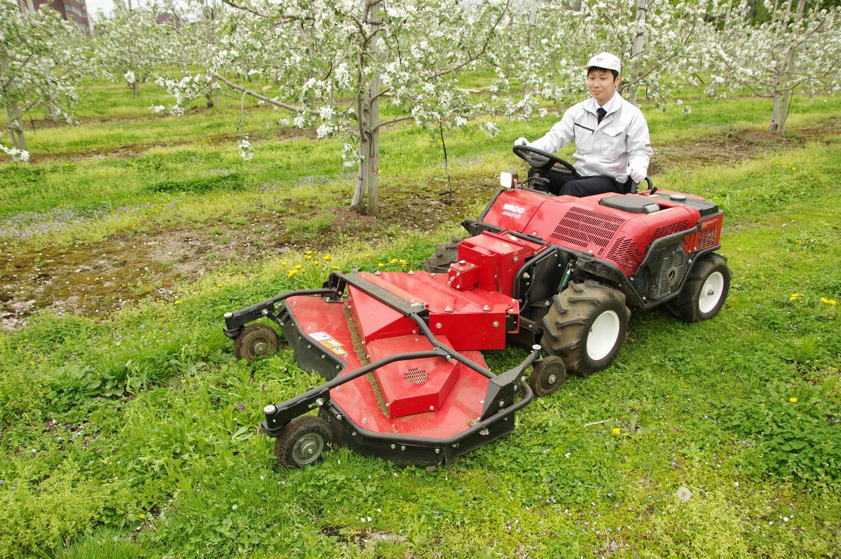 Riding Grass Cutters For Orchards Gaining Attention For