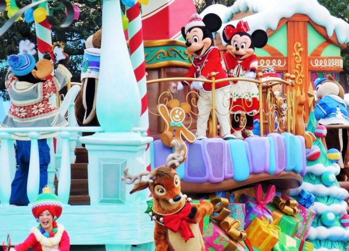 ディズニークリスマスパレード・ミッキー