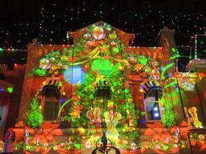 東京ディズニーランド・クリスマス・プロジェクションマッピング