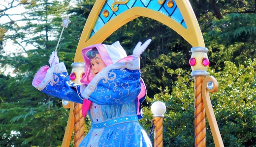🌟シンデレラ★フェアリーゴッドマザー★ Fairy Godmother ディズニーランド「ドリーミング・アップ!」