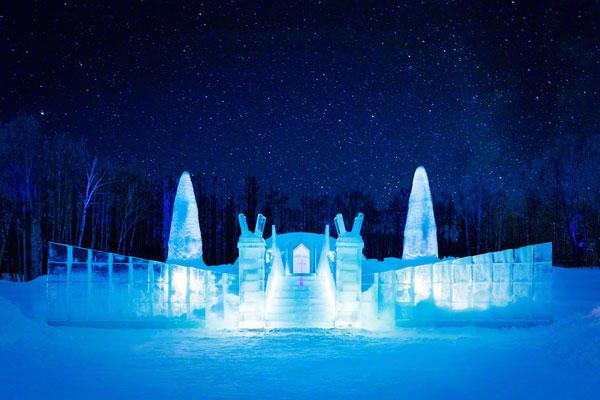 igreja no gelo