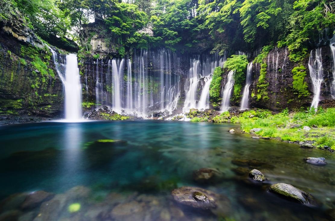 Shiraito Falls em Fujinomiya