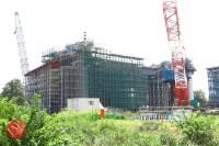 Sensitive spot big scale high way construction, Kenoudou accross Shinkansen. (18)