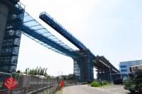 Sensitive spot big scale high way construction, Kenoudou accross Shinkansen. (27)