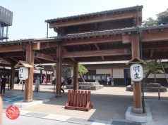 New Japanese historical town on the highway with traditional foods, Hanyu parking (27)