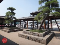 New Japanese historical town on the highway with traditional foods, Hanyu parking (2)
