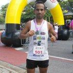 Japeriense participa de corrida em Niterói