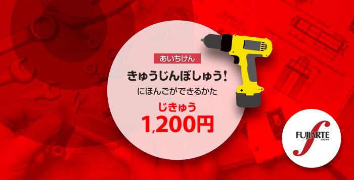 FUJIARTE: じきゅう 1200円