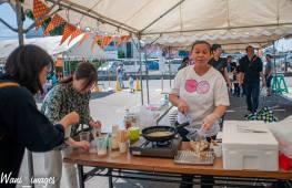 Home-made fishball stand na talaga namang sikat na sikat as street food ng pagkaing pinoy.